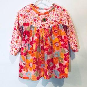 Baby LuLu Floral Long Sleeve Dress